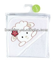 210g terry cloth material terry cloth hooded baby towel