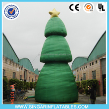 Inflatable outdoor display giant umbrella christmas trees