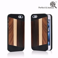 Fully stocked New fashinable bamboo mobile phone for iphone 5s shell