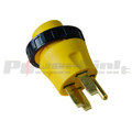 S80499 RV Electrical Locking Adapter 50A Male to 30A Female Locking Plug Connector