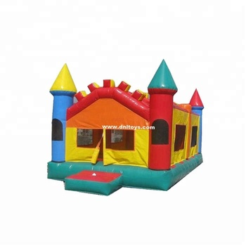 OEM Outdoor 0.55mm PVC Inflatable Commercial event party bouncer