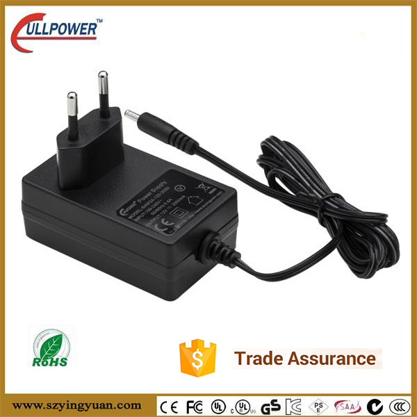 12v2a power adapter UL/cUL CE FCC GS SAA C-Tick RCM PSE KC KCC