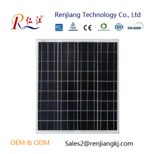 High efficiency 18v Polysilicon Solar Cells pv module 50W Solar Panel