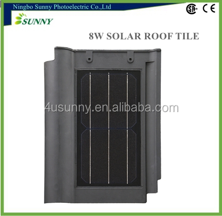 New materials low price made in China Solar Panel Installation Tile Roof