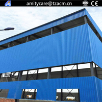 construction projects industrial light steel structure metal building