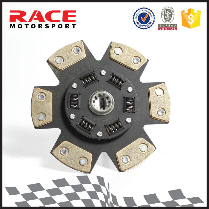 Mparts BV Certification Ceramic Custom 6 Puck Motorcycle Clutch Disc