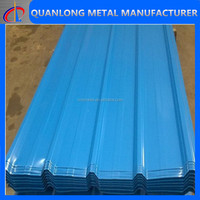 galvalume sheet sgcc corrugated color sheet roofing price