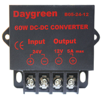 12V 24V to 5V 3A 15W DC DC Buck Variable Converter manufacturers