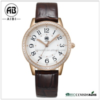 Shenzhen factory new design fashion girls private label lady&fashion watch