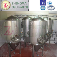 high quality stainless steel jacketed beer fermentation vessels with low price