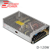 5v 24v dual output switching power supply smps d-120B multiple voltage dc power supply