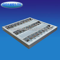 Buy square panel light, Louver fitting,Troffer light fixture in ...