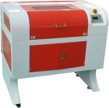 cheap CorelLaser system laser printing engraving machines for leather, fabric, T-shirt KL-460 60w 400*600MM