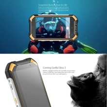 Big stock waterproof ip68 smartphone Blackview BV6000 16GB, Network: 4G outdoor use with fast shipping