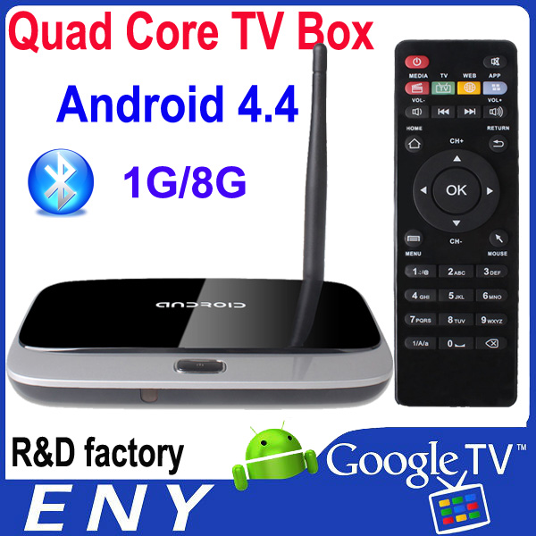 RK3188T quad core android TV box CS918 1GB EKB311A made in china