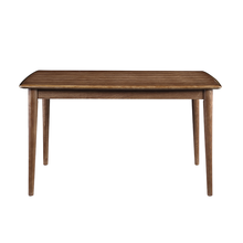 Simple style dining room furniture all solid wood dining table