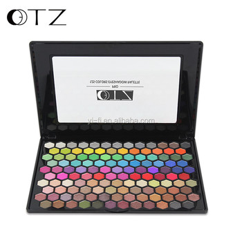 TZ brand 125 colors high shrimmer private lable eyeshadow