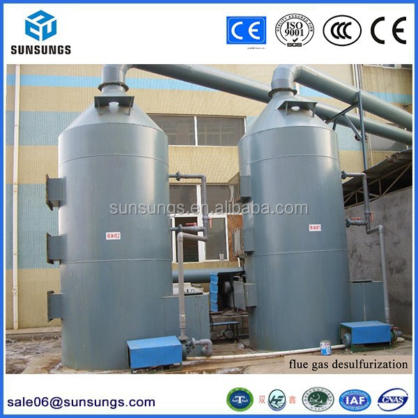 Wet dust collector, Gas scrubber, Odor neutralizer for desulfurization system