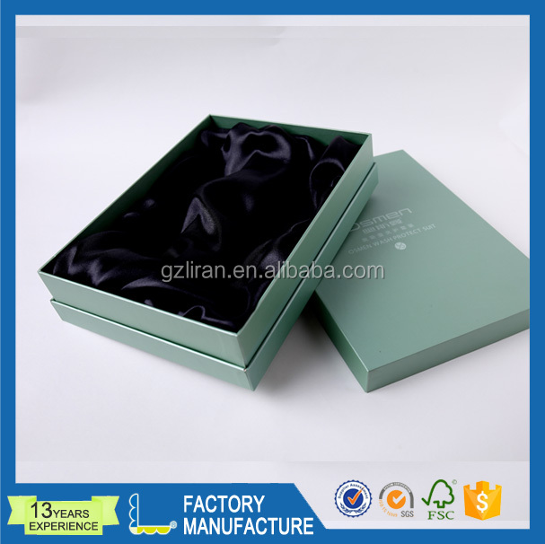 luxury jewelry lid and base paper gift box