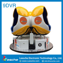 Hot sales dynamic hydraulic / electric movies system eggs mobile 9d VR theater simulator equipment 9d cinema