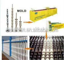 Cement art fence production line. concrete fence wall production line