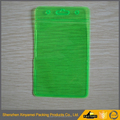 green color clear transparent pvc card holder,vinyl credit card holder card wallet,id card holders