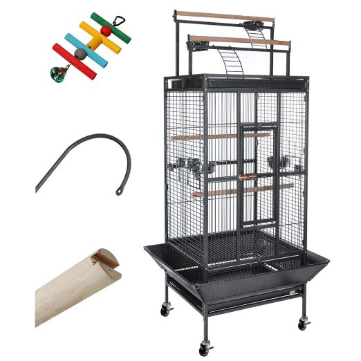 Parrot Bird Cage Storey Play Top Ladder House Pet for sale