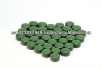 500mg Organic Tablets Spirulina