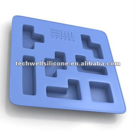 Tetris silicone fancy ice cube trays