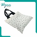 Beautiful printed promotional custom cotton carry bag new design