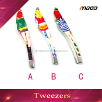 2015 Fashionable scissor handle tweezers