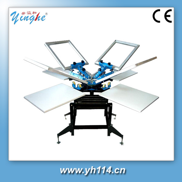 best price multifunctional round object auto screen printing machine