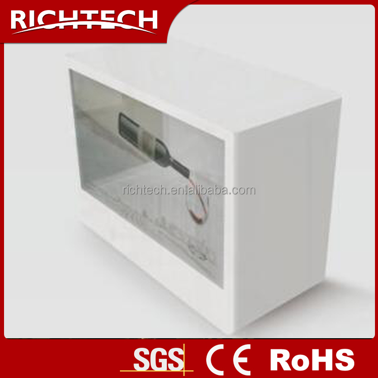 Custom Transparent LCD Video Showcase/LCD Transparent Display