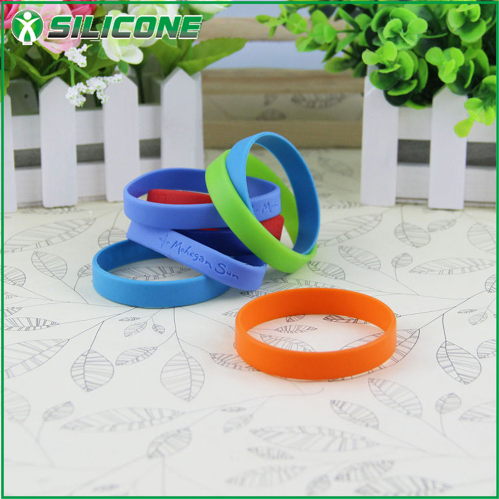 Hot selling custom men silicone magnetic bracelet for promotion gift