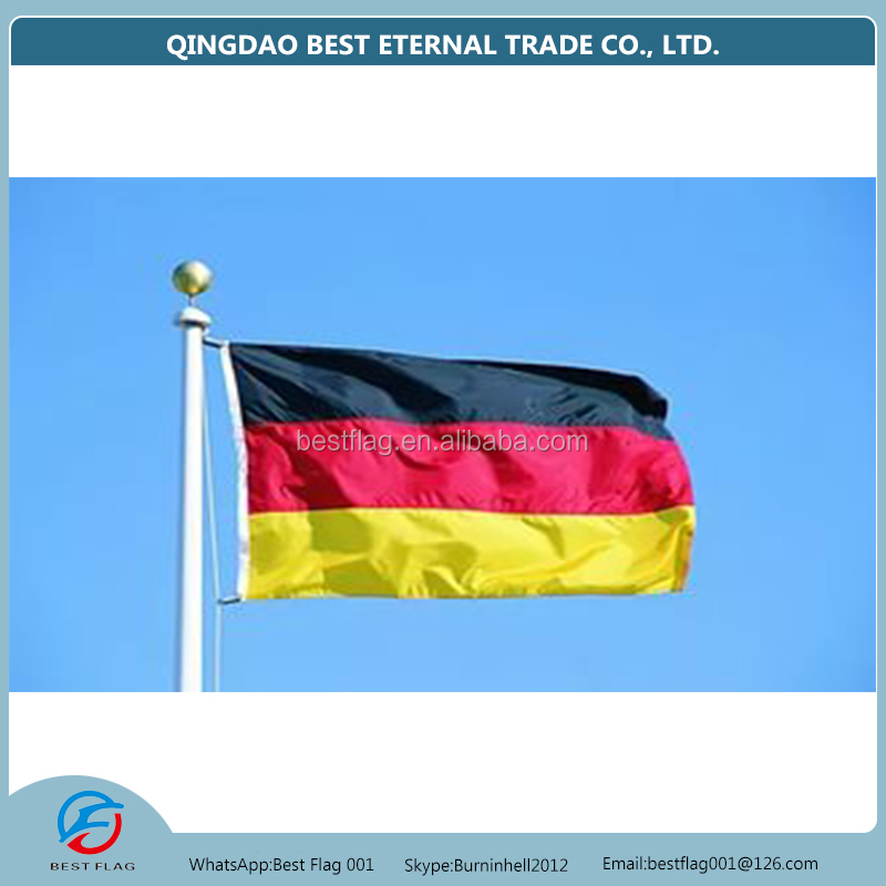 Flying customized polyester german flag for sale