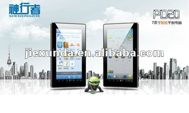 New arrival !! FreeLander PD20 7 Inch Android 4.0 Capacitive Screen GPS Cortex-A5 Dual Core 1.2GHz 1GB8GB 1080P GPS TABLET PC