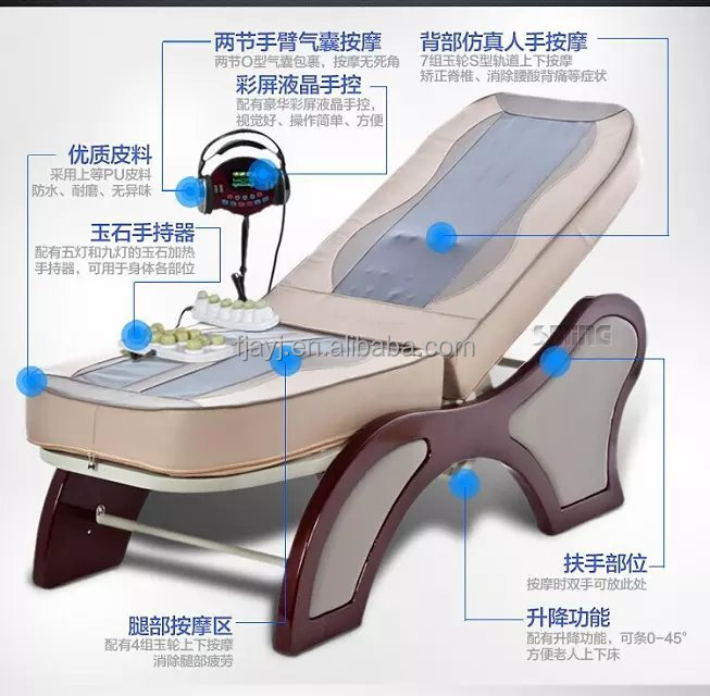 electric bed for massage