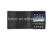 PU leather bluetooth keyboard case for ipad air