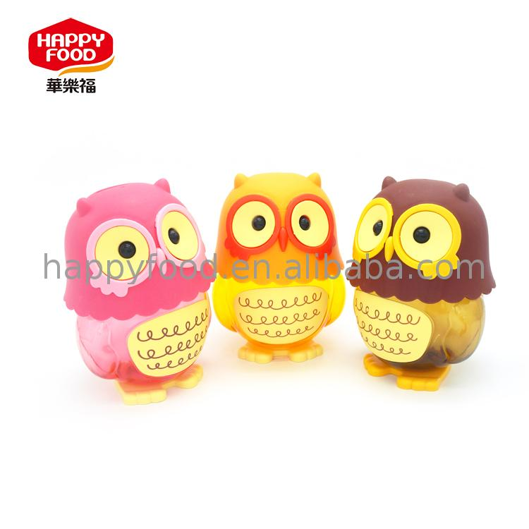 2017 New pink owl candy toys coconut water thailand jelly