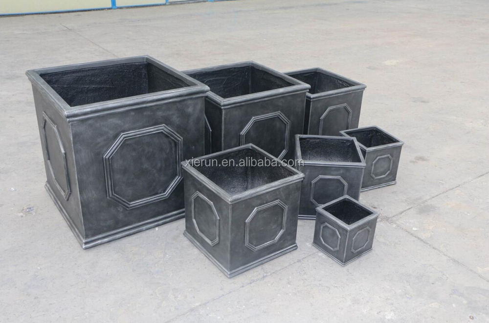 Foshan factory container gardening flower pot decorating ideas