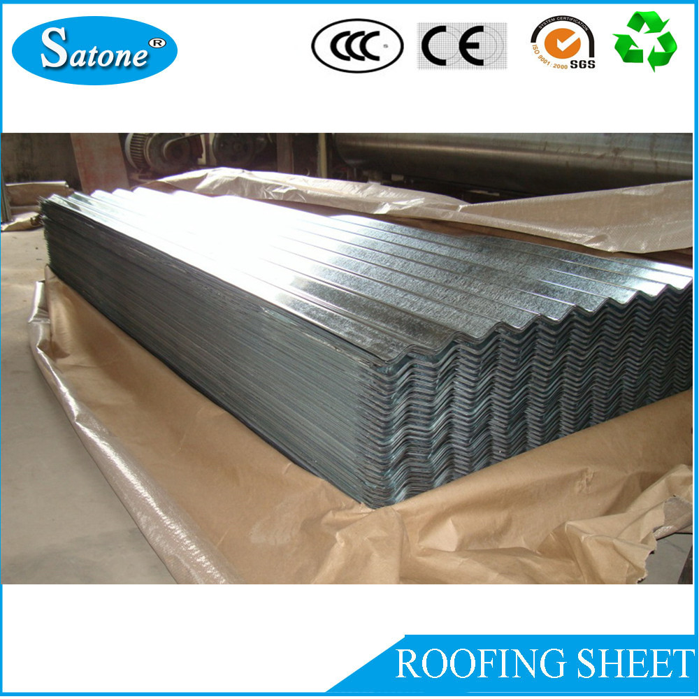 2016 HOT supply corrugated galvanized zinc roofing sheet