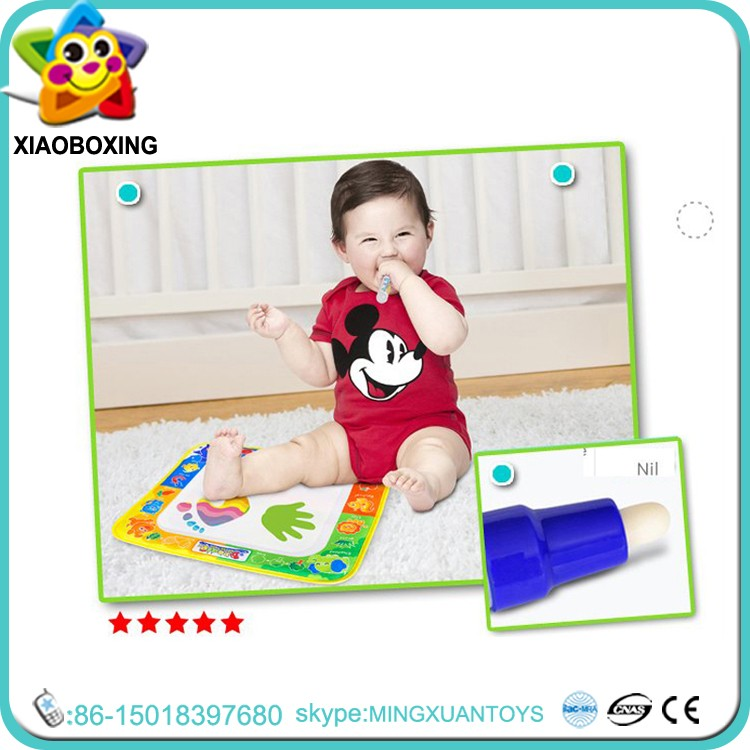 2016 New Arrival kids erasable magnetic water drawing board with pen