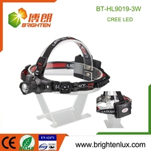 Factory bulk Sale 3*AA Battery Operated Long Beam Q5 Most Powerful Aluminum best led headlamp