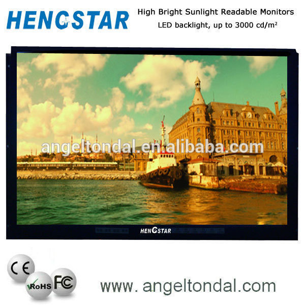 "32""Large Format LCD Monitor,indoor led tv"