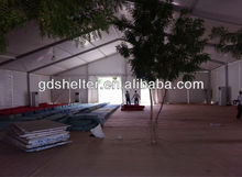 Saudi Arabia style gaint beautiful white pvc marquee exported in Middle East