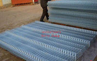 Hot-dipped galvanized metal panel/Fence curved panel