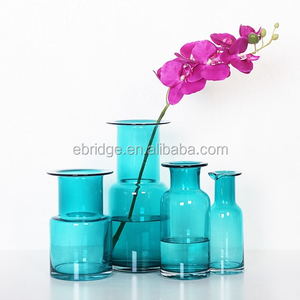 cheap colored glass vases wholesale wedding centerpieces