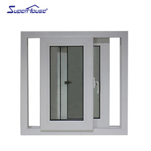 Directly Factory Price Tempered Glass Office PVC Sliding Window Price Philippine