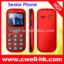 senior phone PS-V704 mobile phone for old age people