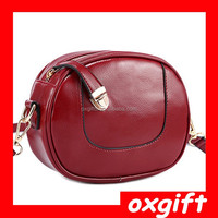 oxgift retro style cosmetics bags and purses PU leather camera bags for ladies